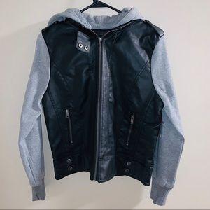 Ambiance Zipup Jacket with Hood Large